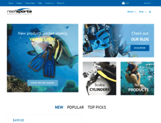 reefsports.co.nz screenshot