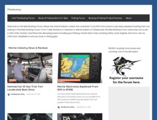 reelboating.com screenshot