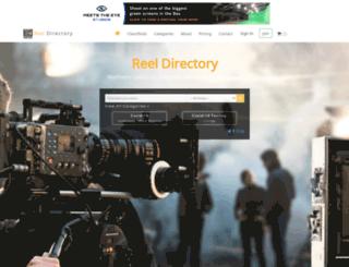 reeldirectory.com screenshot