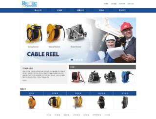 reeltec.com screenshot