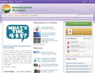 reemploymentworks.workforce3one.org screenshot