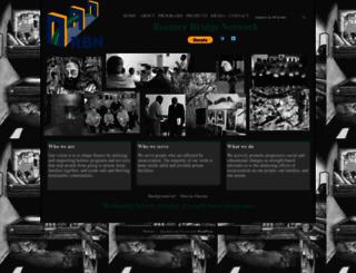 reentrybridgenetwork.org screenshot