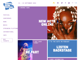 reeperbahnfestival.com screenshot