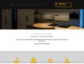 rees-moebelwerkstaette.de screenshot
