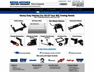 reese-hitches.com screenshot