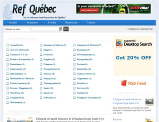 ref-quebec.dgtelescopique.com screenshot