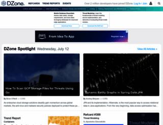 refcardz.dzone.com screenshot