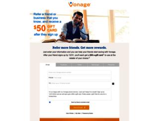 refer.vonage.com screenshot