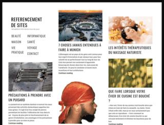 referencement-de-sites.info screenshot