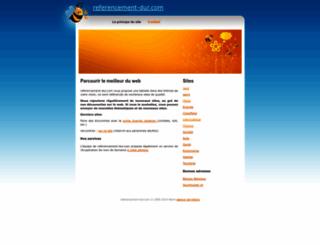referencement-dur.com screenshot