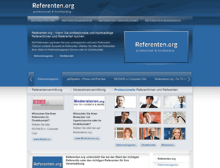referenten.org screenshot