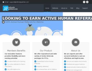 referralspartner.com screenshot