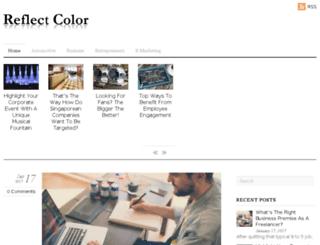 reflectcolor.com screenshot