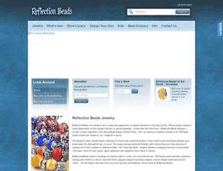 reflectionbeads.com screenshot