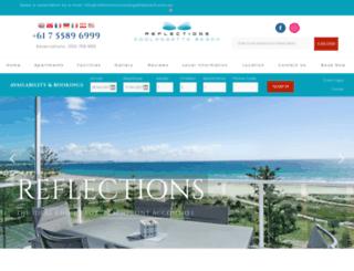 reflectionscoolangattabeach.com.au screenshot