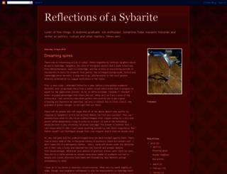 reflectionsofasybarite.blogspot.com screenshot
