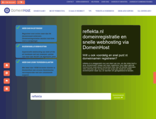 reflekta.nl screenshot