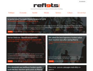 reflets.info screenshot