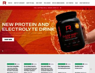 reflex-nutrition.com screenshot