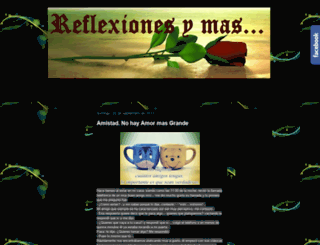 reflexionesymass.blogspot.mx screenshot