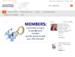 reflexology.org screenshot