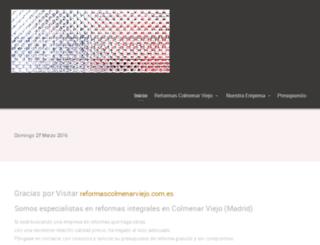 reformascolmenarviejo.com.es screenshot