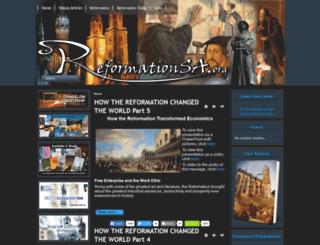 reformationsa.org screenshot