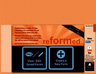 reformedapp.com screenshot