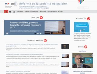 reformeducollege.ac-versailles.fr screenshot