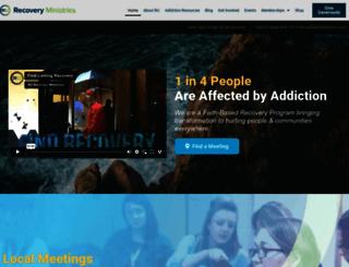 reformersrecovery.com screenshot