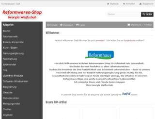 reformwaren-shop.de screenshot