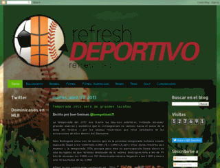 refreshdeportivo.blogspot.com screenshot