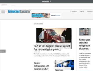refrigeratedtrans.com screenshot
