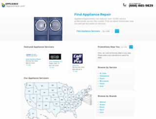refrigeratorrepairnearyou.com screenshot