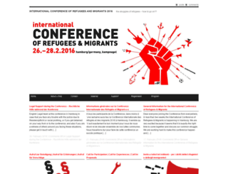 refugeeconference.blogsport.eu screenshot