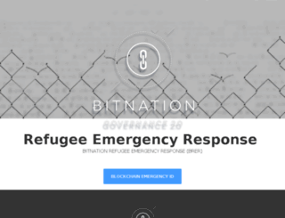refugees.bitnation.co screenshot