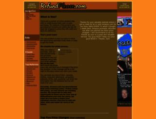 refundplease.com screenshot