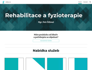 refyz.cz screenshot