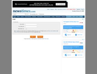 reg.newstimes.com screenshot