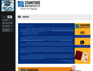 reg.stamford.edu screenshot