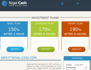 regal-cash.com screenshot