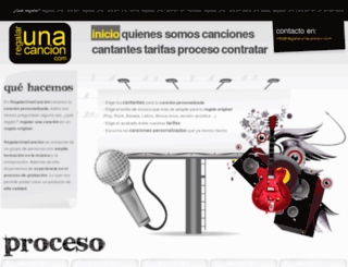 regalarunacancion.com screenshot