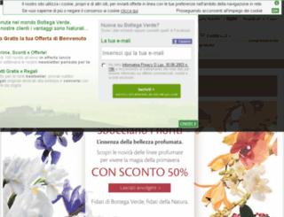 regali-natale.bottegaverde.it screenshot