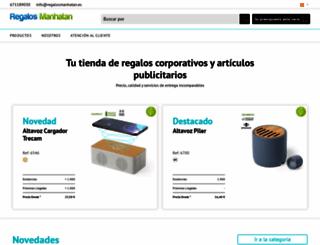 regalosmanhatan.es screenshot
