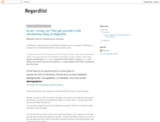 regardlist.blogspot.com screenshot