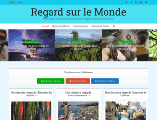 regardsurlemonde.fr screenshot