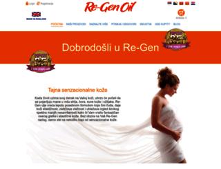 regen-oil.com screenshot