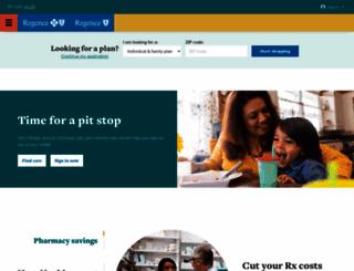 regence.com screenshot