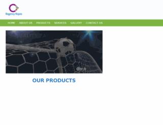 regencyropes.com screenshot