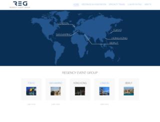 regencytravelgroup.com screenshot